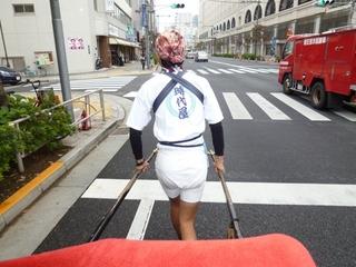 人力車で浅草観光