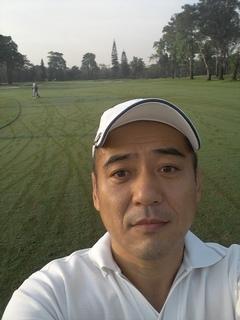 レイクウッドでゴルフ