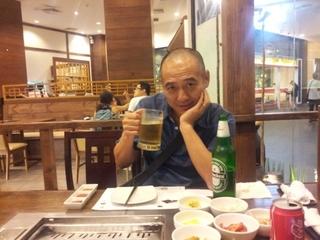 焼肉とビール
