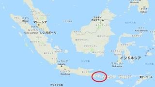 バリ島の位置