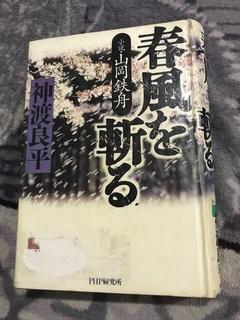 春風を斬る 小説・山岡鉄舟