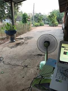 タイの田舎でノマド