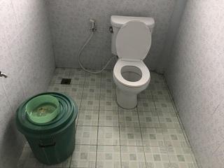 妻の実家の洋式トイレ