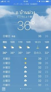 15時の気温