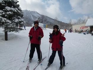 初めてのスキー