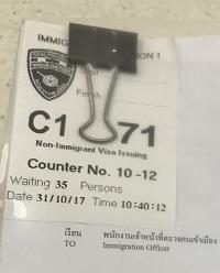 C1の番号札