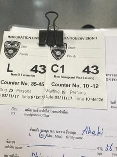 待ち行列の番号札